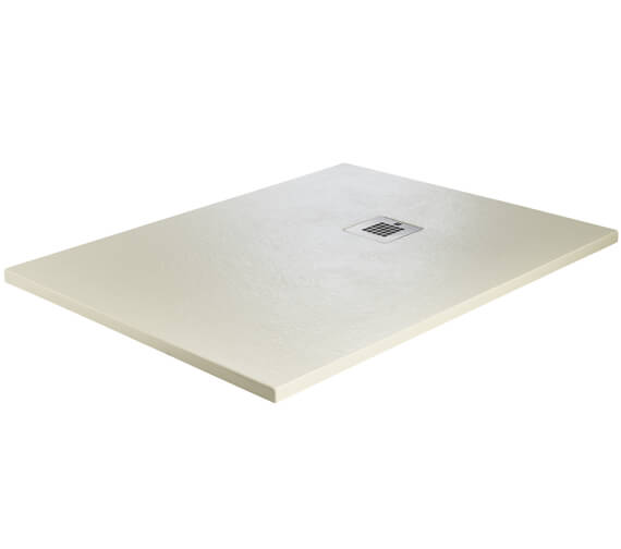 Additional image of Just Trays Naturals Rectangular Shower Tray