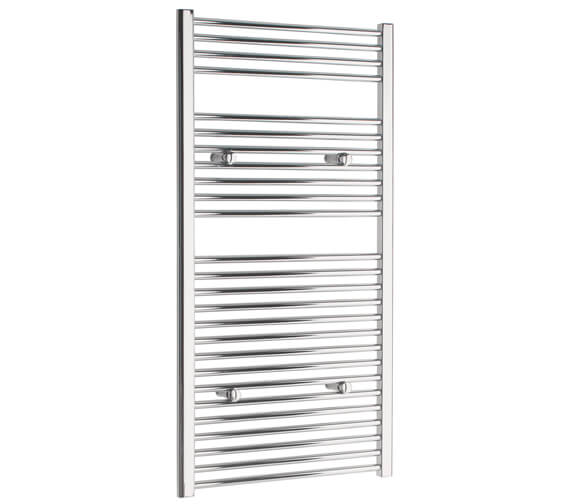 Additional image of Tivolis 500mm Wide Straight Towel Warmer In Chrome Finish