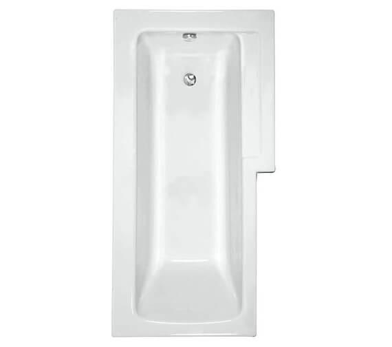 VitrA Neon 1700 x 850mm L Shaped Shower Bath
