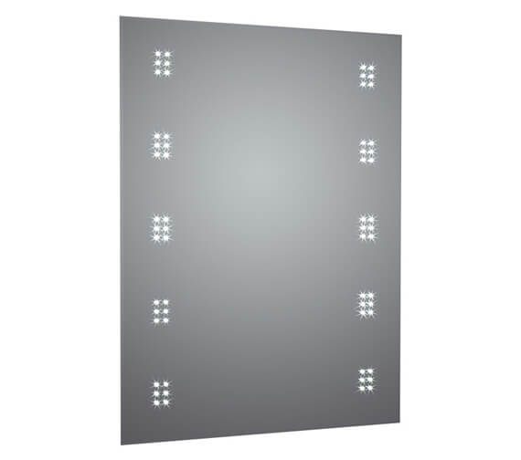 Frontline Alpha 500 x 700mm LED Mirror With Touch Sensor And Demister Pad