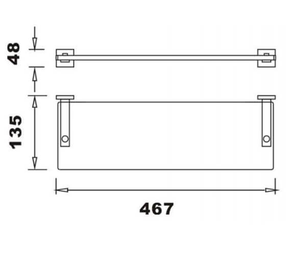 Technical drawing QS-V103309 / RAKCUB9913
