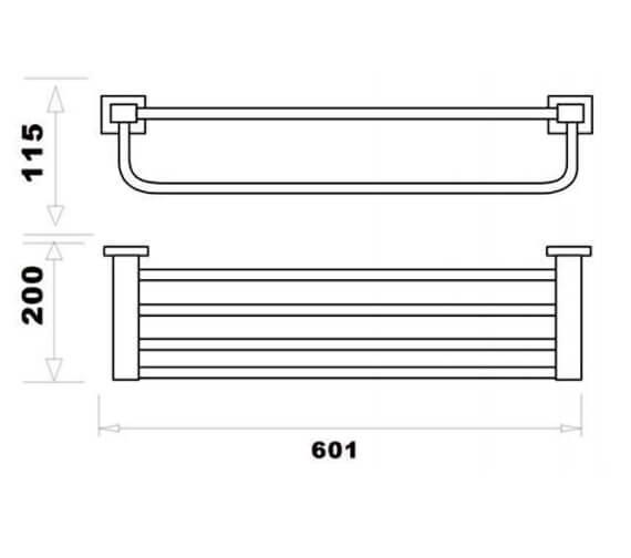 Technical drawing QS-V103310 / RAKCUB9914