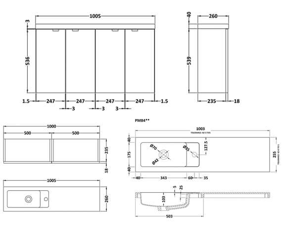 Technical drawing QS-V98045 / CBI143