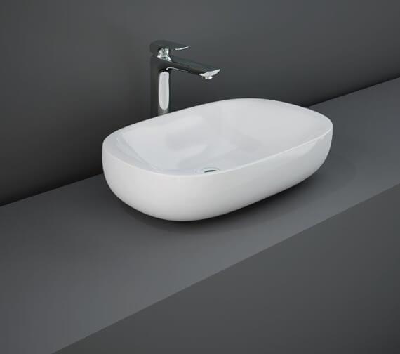 RAK Illusion 610mm Wide Countertop Wash Basin
