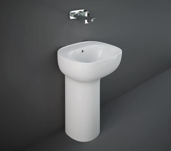 RAK Illusion 540mm Wide Freestanding Wash Basin With Hidden Fixation System