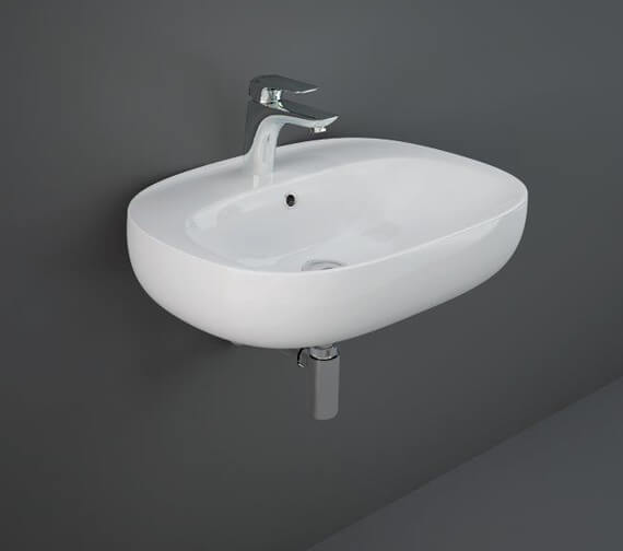 Additional image of RAK Illusion Wall Hung Wash Basin With 1 Tap Hole