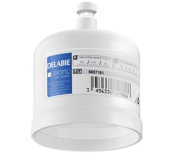 Delabie Anti-Bacterial Biofil Cartridge Filter