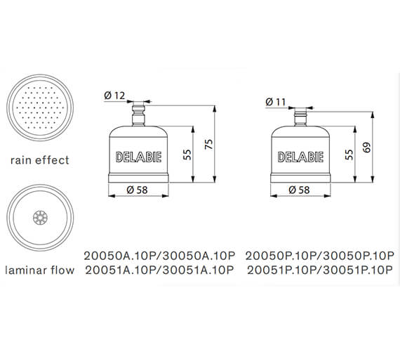 Technical drawing QS-V96377 / 30050A.10P