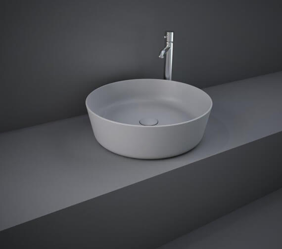 Additional image of RAK Feeling Round 420mm Countertop Basin Without Tap Hole