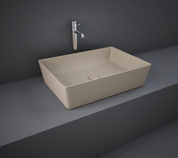 Alternate image of RAK Feeling Rectangular 500 x 360mm Countertop Basin
