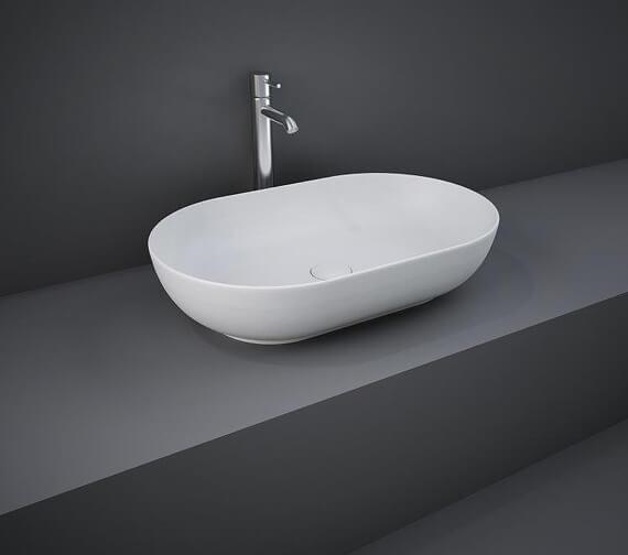 Additional image of RAK Feeling Oval 550 x 350mm Countertop Basin