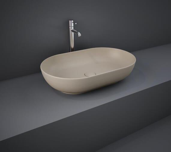 Alternate image of RAK Feeling Oval 550 x 350mm Countertop Basin