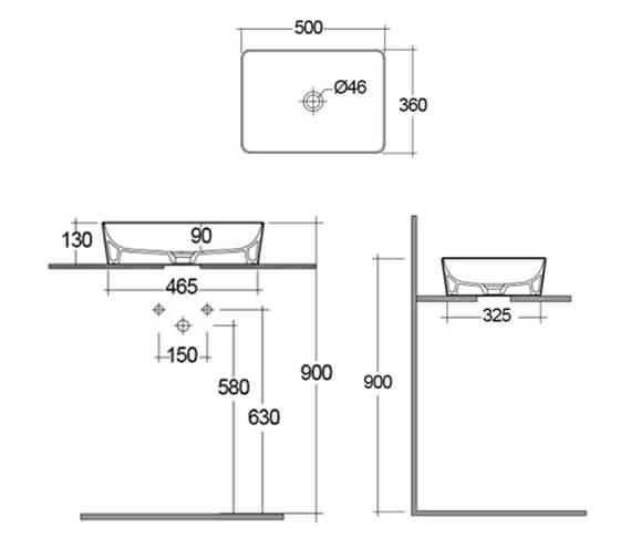 Technical drawing QS-V103343 / FEECT5000500A