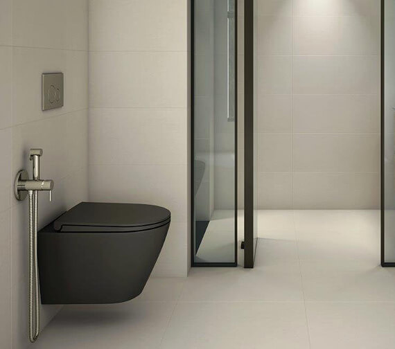 Additional image of RAK Feeling Rimless Wall-Hung WC Pan And Soft Close Seat
