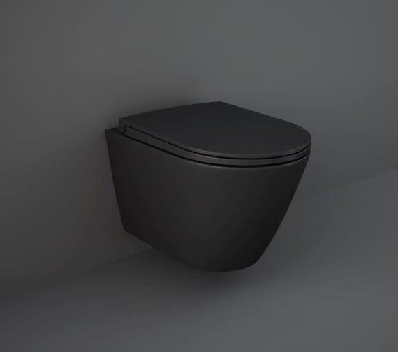 Alternate image of RAK Feeling Rimless Wall-Hung WC Pan And Soft Close Seat