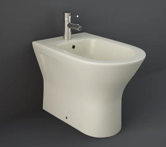 Additional image of RAK Feeling Back To Wall Bidet - 550mm Projection