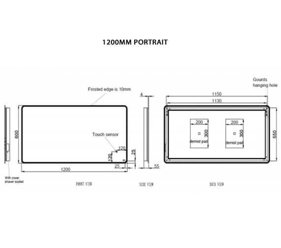 Technical drawing QS-V103349 / RAKAME5001