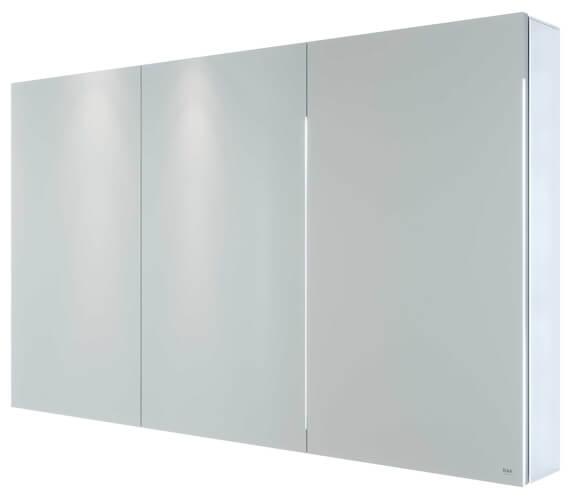 Alternate image of RAK Gemini Aluminium Mirrored Bathroom Cabinet