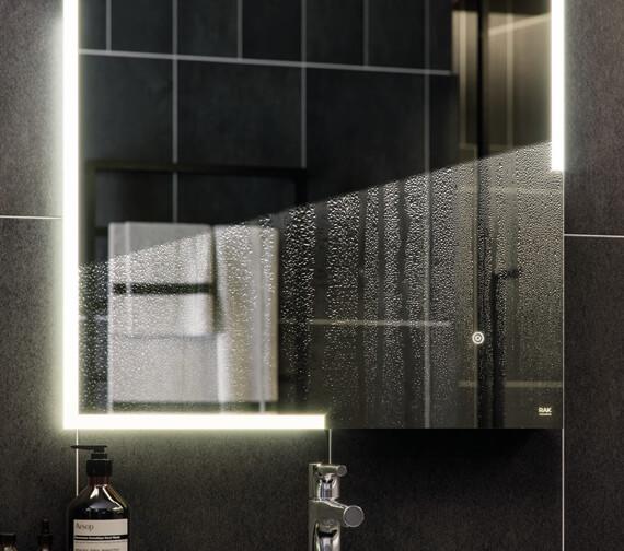 Alternate image of RAK Hestia LED Illuminated Portrait Mirror With Touch Sensor Switch
