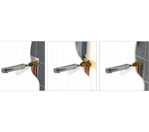 Alternate image of Delabie Tempomix 3 Time Flow Mixer Spout