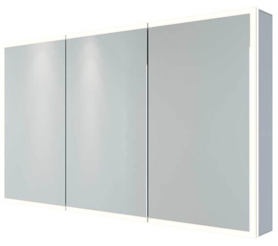 Alternate image of RAK Pisces LED Illuminated Mirrored Cabinet