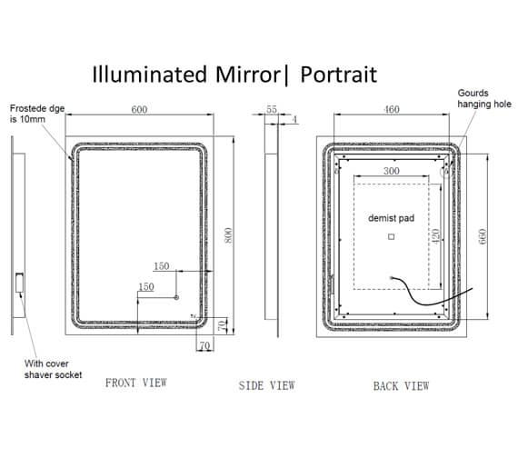 Technical drawing QS-V103363 / RAKPLU5001