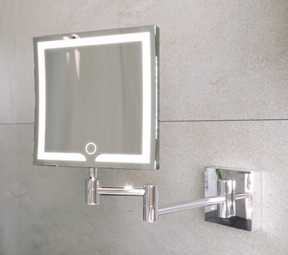 Additional image of RAK Demeter LED Illuminated 3x Magnifying Mirror With Touch Sensor Switch