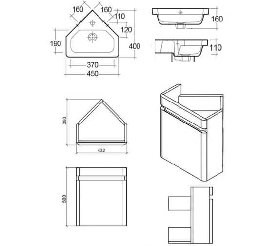 Technical drawing QS-V103368 / RAKRSTWBC45600
