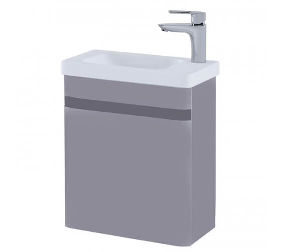Additional image of RAK Resort Wall Hung 450mm Wide Cloakroom Vanity Unit With Basin