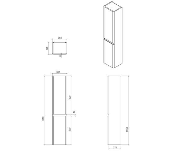Technical drawing QS-V103367 / RAKRSTTSU35600