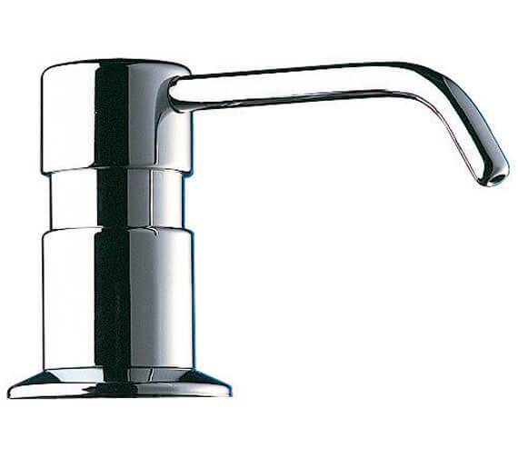 Delabie Deck Mounted Curved Spout Liquid Soap Dispenser