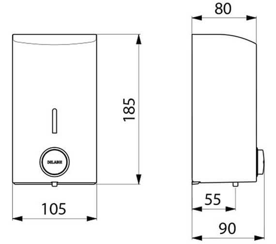 Technical drawing QS-V96393 / 510584