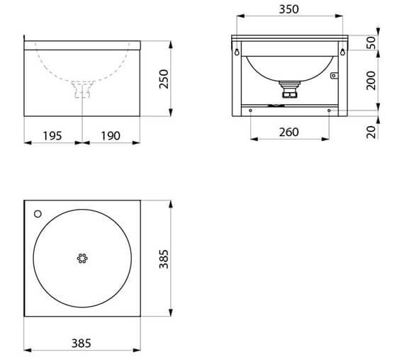 Technical drawing QS-V96394 / 181310