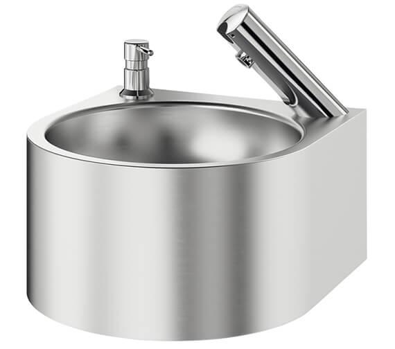 Delabie Wall Mounted SXS Electronic Hand Washbasin