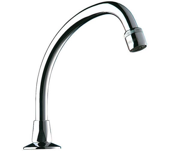 Delabie Deck Mounted Swivelling Swan Neck Spout