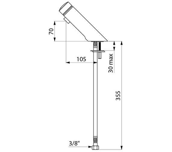 Technical drawing QS-V96389 / 794100