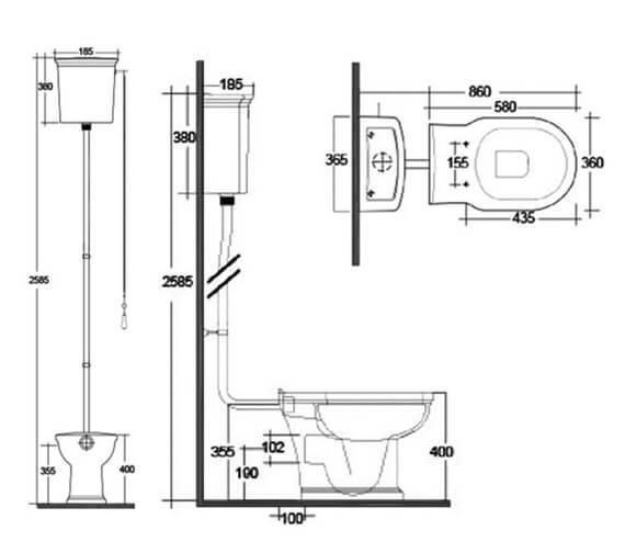 Technical drawing QS-V103048 / WASPAKHL500