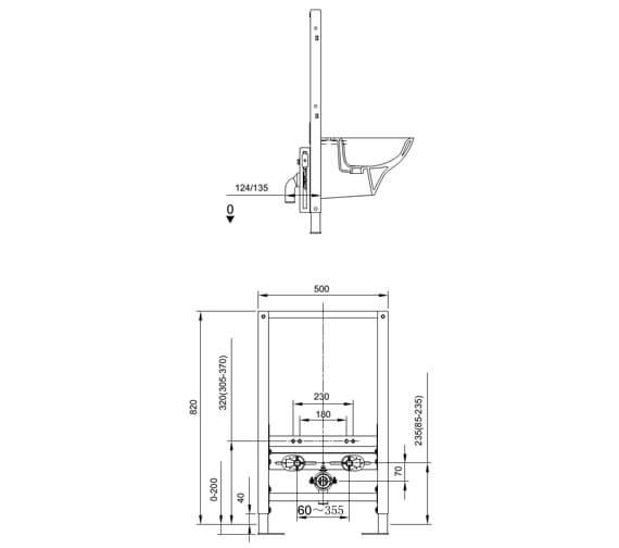 Technical drawing QS-V103115 / FS09RAKC