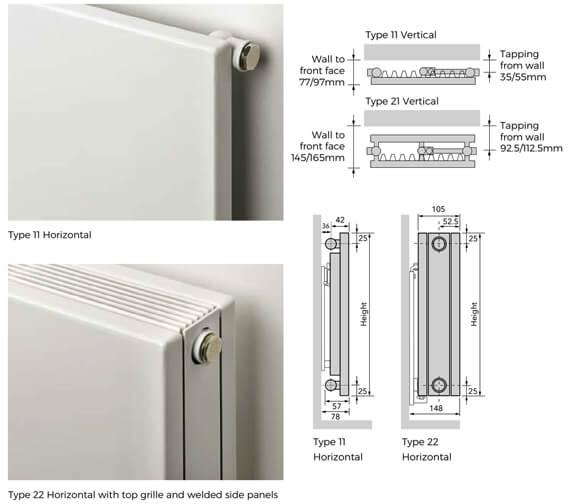 Technical drawing QS-V100306 / CLPH11-4008