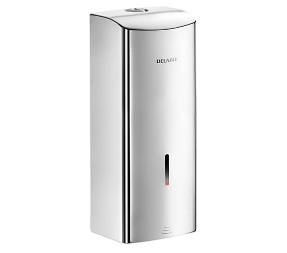 Delabie Wall-Mounted Electronic Liquid Soap Or Hydroalcoholic Gel Dispensers - Battery-Operated