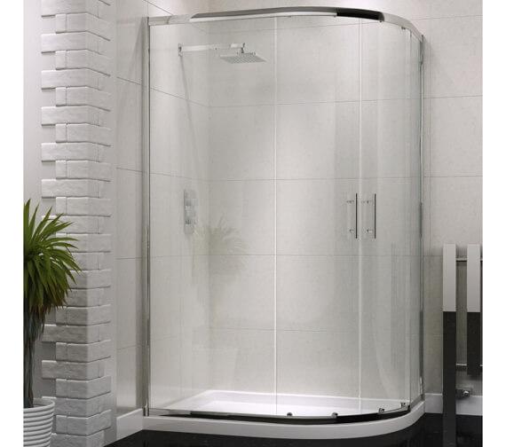 Harrison Bathrooms A6 Double Door Offset Quadrant