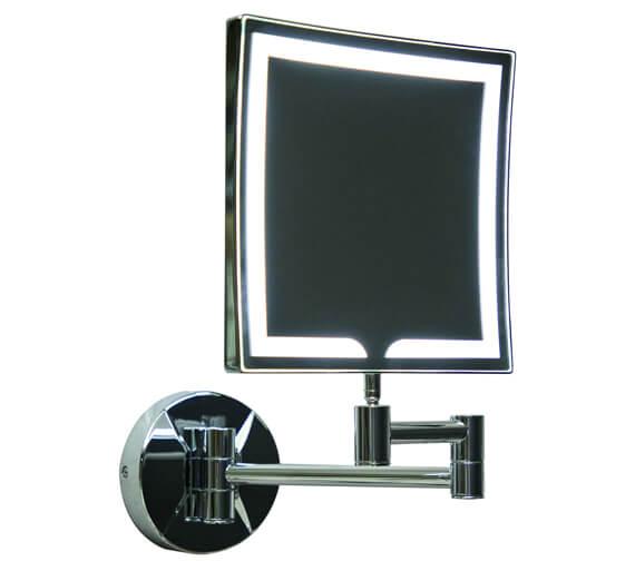 Harrison Bathrooms 250mm Square Led Make Up Mirror
