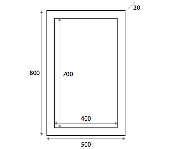 Technical drawing QS-V102819 / WMIRRGWTE5X8