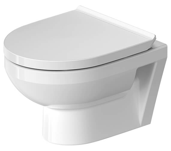 Duravit Durastyle Basic 365 x 480mm Wall Mounted Rimless Toilet