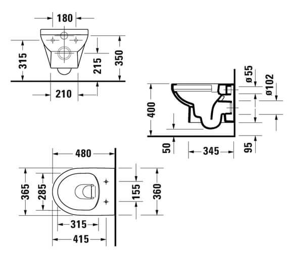 Technical drawing QS-V98149 / 2575090000