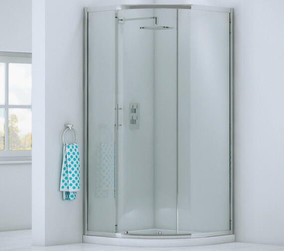 Harrison Bathrooms A6 Single Door Quadrant