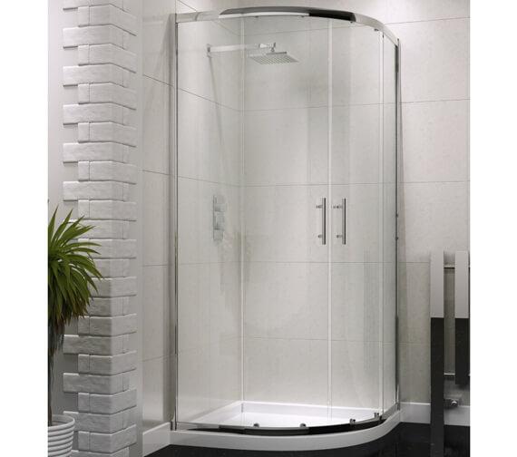 Harrison Bathrooms A6 Double Door Quadrant