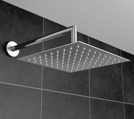 Harrison Bathrooms Square Fixed Shower Heads