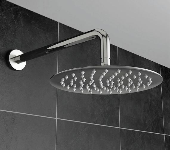 Harrison Bathrooms Round Fixed Shower Heads