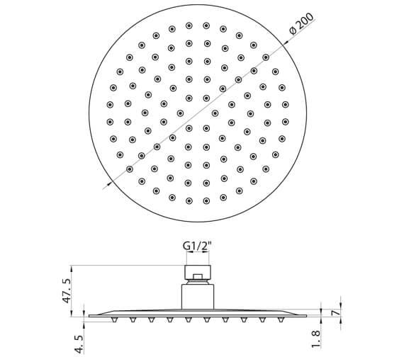Technical drawing QS-V102610 / RO002